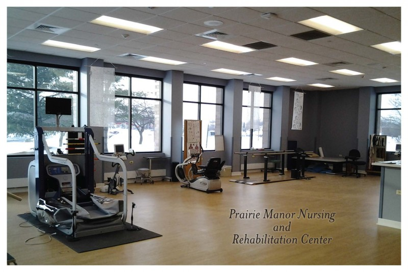 Newly Remodeled Physical Therapy Room